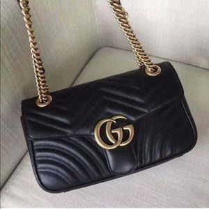 GUCCI Marmont quilted shoulder bag